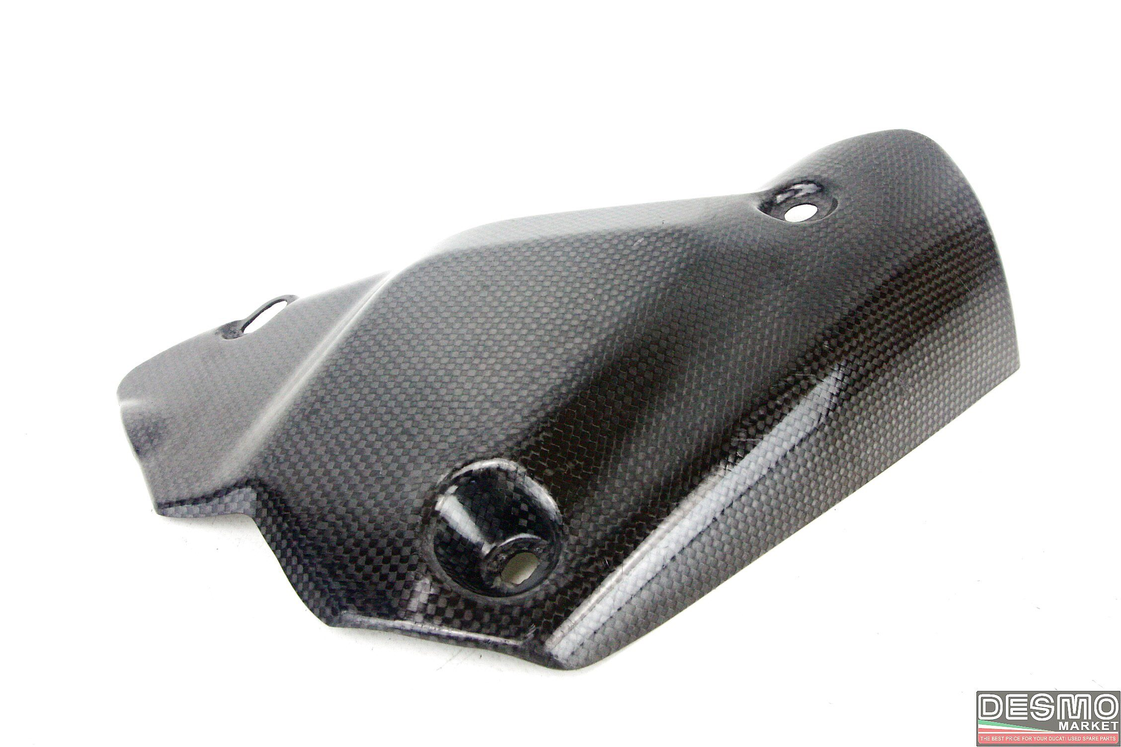 Exhaust Heat Shield Carbon Fiber Original Ducati 848 1098 1198