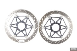Dischi freno anteriore brembo 330 mm ducati monster 1200 multistrada 1260 pikes peak 1200 enduro