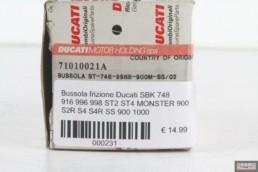 Bussola frizione Ducati SBK 748 916 996 998 ST2 ST4 MONSTER 900 S2R S4 S4R SS 900 1000