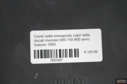 Cover sella monoposto copri sella ducati monster 600 750 900 anno fusione 1993