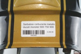 Serbatoio carburante metallo ducati monster 600 750 900