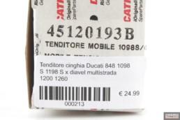 Tenditore cinghia Ducati 848 1098 S 1198 S x diavel multistrada 1200 1260