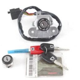Blocchetto chiavi serratura sella Ducati SBK 749 999