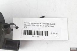 Bobina accensione candela Ducati Monster 696 796 1100 Scrambler 800
