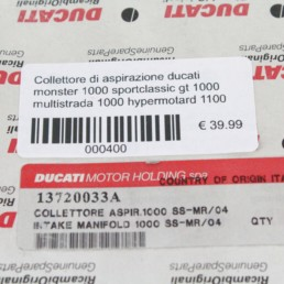 Collettore di aspirazione ducati monster 1000 sportclassic gt 1000