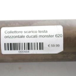 Collettore scarico testa verticale ducati monster 620