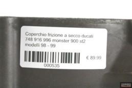 Coperchio frizione a secco ducati 748 916 996 monster 900 st2 modelli 98 – 99