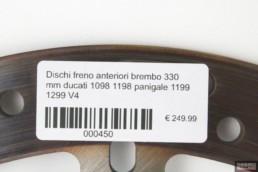 Dischi freno anteriori brembo 330 mm ducati 1098 1198 panigale 1199 1299 V4