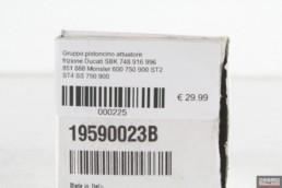 Gruppo pistoncino attuatore frizione Ducati SBK 748 916 996 851 888