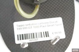 Tappo serbatoio carbonio Ducati 749 999 GT 1000 Paul Smart Sport