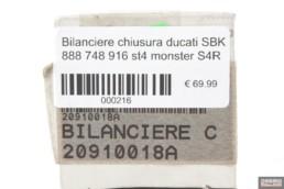 Bilanciere chiusura ducati SBK 888 748 916 st4 monster S4R