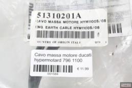 Cavo massa motore ducati hypermotard 796 1100
