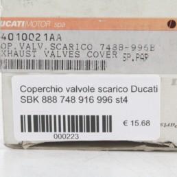 Coperchio valvole scarico Ducati SBK 888 748 916 996 st4