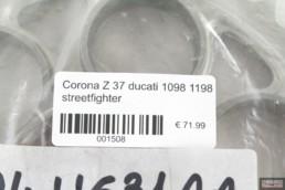 Corona Z 37 ducati 1098 1198 streetfighter