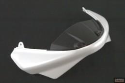 Cupolino bianco  Ducati monster 696 796 1100