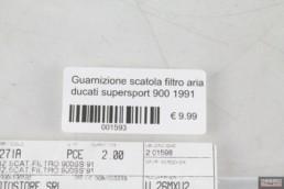 Guarnizione scatola filtro aria ducati supersport 900 1991
