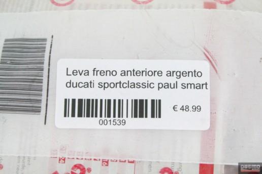 Leva freno anteriore argento ducati sportclassic paul smart