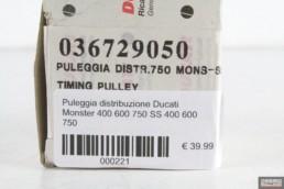 Puleggia distribuzione Ducati Monster 400 600 750 SS 400 600 750