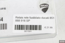 Relais rele fusibilato ducati 851 888 916 SP