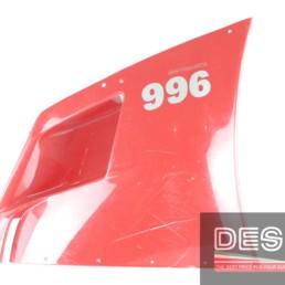 carena fiancata alta destra rossa ducati 748 916 996 3429