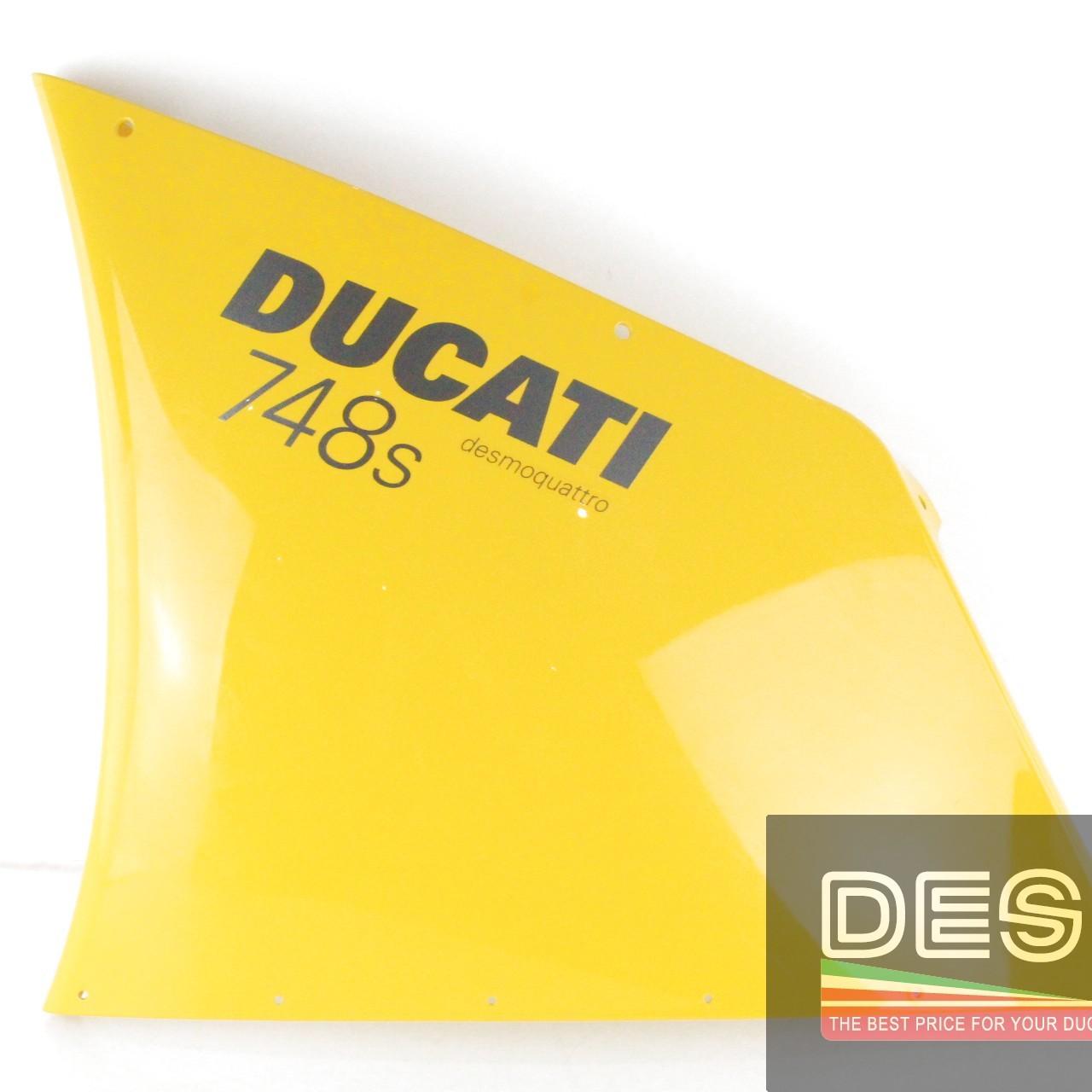 carena fiancata alta sinistra gialla ducati 748 998 MY 2002 3417