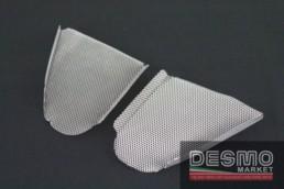 plexi plexiglass rialzato nero cupolino ducati 748 916 996 998 3446