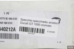 Specchio specchietto sinistro Ducati GT 1000 cromato