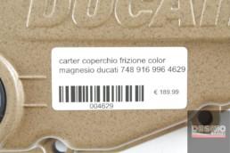 carter coperchio frizione color magnesio ducati 748 916 996 4629