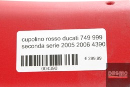 cupolino rosso ducati 749 999 seconda serie 2005 2006 4390
