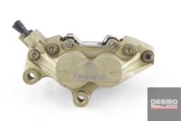 pinza freno anteriore sinistra brembo oro ducati 748 996 998 monster  65mm 4331