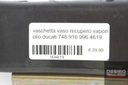 vaschetta vaso recupero vapori olio ducati 748 916 996 4619