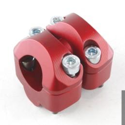 adattatori riser 22 28 mm ergal rossi ducati m 600 700 900 620 695 1000