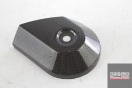cover carbonio valvola scarico ducati performance monster 696 796 1100