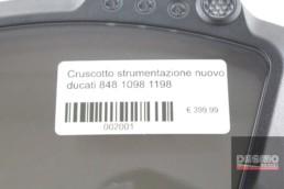 Cruscotto dashboard strumentazione nuovo ducati 848 1098 1198