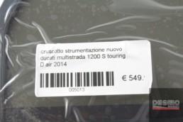 cruscotto strumentazione nuovo ducati multistrada 1200 S touring D air 2014