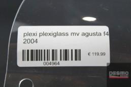 plexi plexiglass mv agusta f4 2004