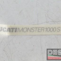 Decalco fiancate DUCATI MONSTER 1000S ducati monster 1000S 1000 S