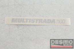 Decalco fiancate MULTISTRADA 1100 ducati multistrada 1100
