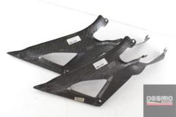 Fianchetto pannello laterale destro carbonio ducati performance 1098R 1098 R 1198