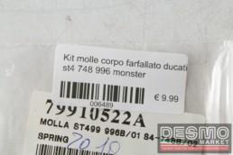 Kit molle corpo farfallato ducati st4 748 996 monster