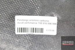 Parafango anteriore carbonio ducati perfomance 748 916 996 998