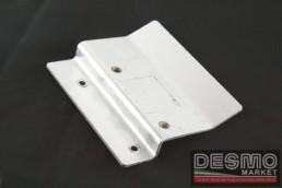 Piastra alluminio supporto regolatore tensione ducati 748 916 996 998