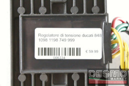 Regolatore di tensione ducati 848 1098 1198 749 999