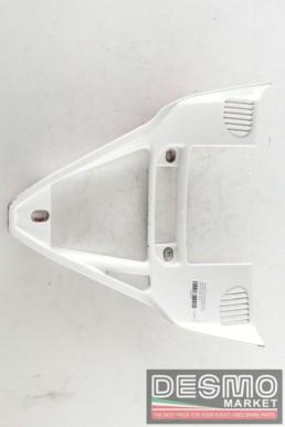 Triangolo convogliatore aria radiatore olio white ducati 749 999 my 2002 2004