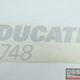 Adesivo carena decal DUCATI 748