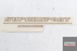 Adesivo carena destra SUPERSPORT DESMODUE ducati supersport SS 600 750