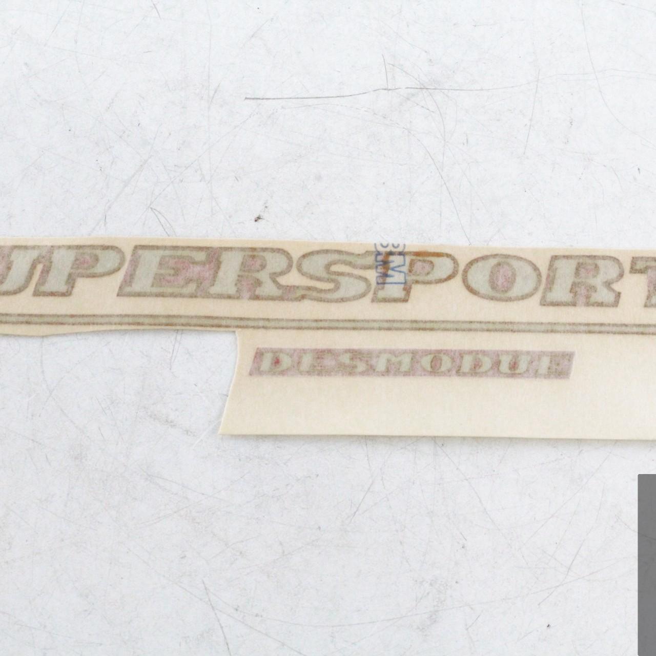 Adesivo carena sinistra SUPERSPORT DESMODUE ducati supersport SS 600 750
