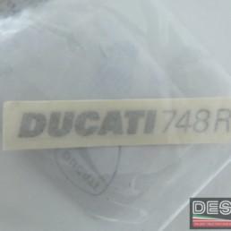Adesivo codone decal DUCATI 748R
