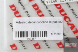 Adesivo decal cupolino ducati st2