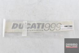 Adesivo decal ducati 999 testastretta